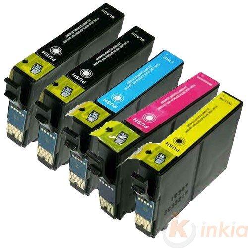 Pack de 5 compatibles Premium Epson C13T03A94010 / 603XL/603 (BkCMY) - Cartouches d'encre Multipack