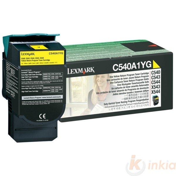 ORIGINAL Lexmark C540A1YG - Toner jaune