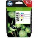 ORIGINAL HP 3YP34AE / 912XL - Cartouche d'encre multi pack
